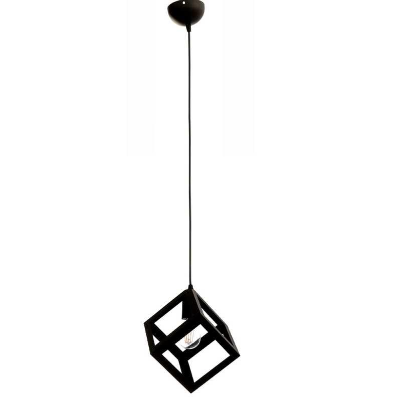 InLight Κρεμαστό φωτιστικό Μονόφωτο μαύρο E27 4400-BL